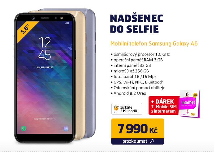 Mobilní telefon Samsung Galaxy A6