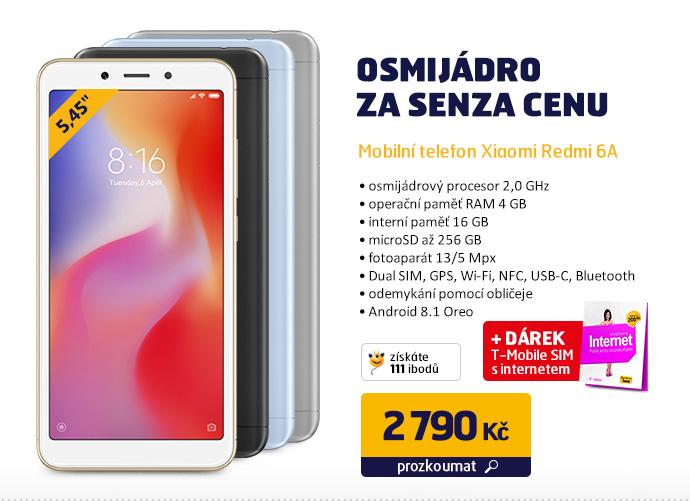 Mobilní telefon Xiaomi Redmi 6A