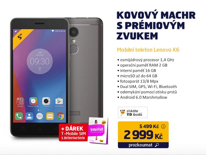 Mobilní telefon Lenovo K6
