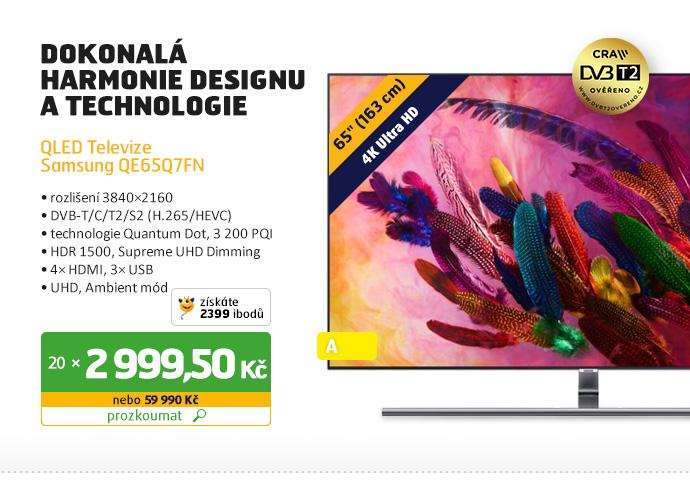QLED Televize Samsung QE65Q7FN