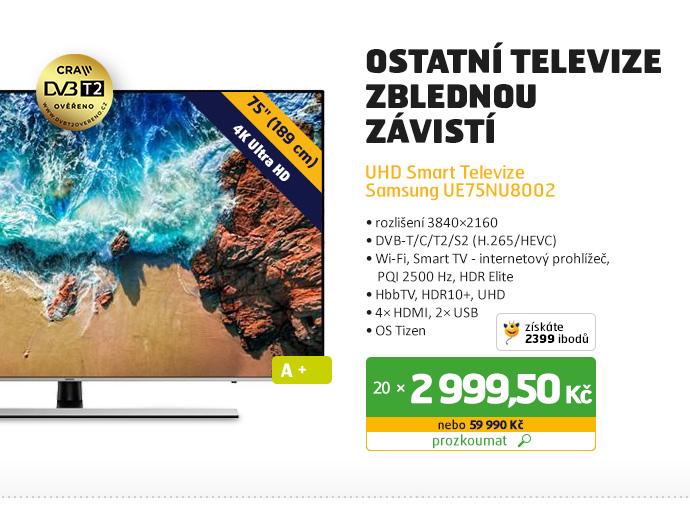 UHD Smart Televize Samsung UE75NU8002