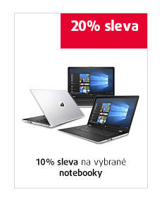10% sleva na vybrané notebooky