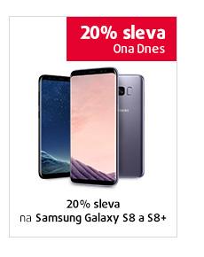 20% sleva na Samsung Galaxy S8 a S8+