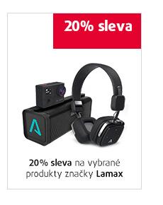 20% sleva na vybrané produkty značky Lamax
