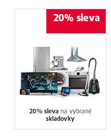 20% sleva na vybrané skladovky