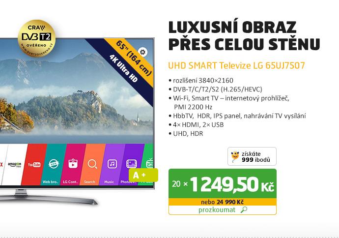 UHD Smart televize LG 65UJ7507