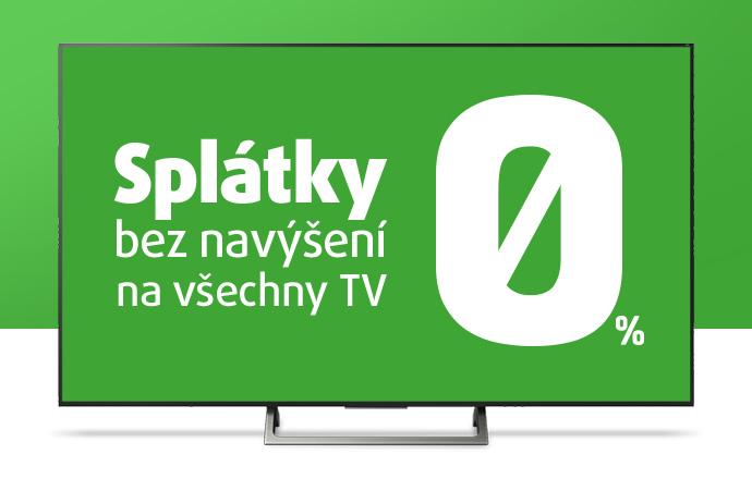 Splátky bez navýšení na všechny TV