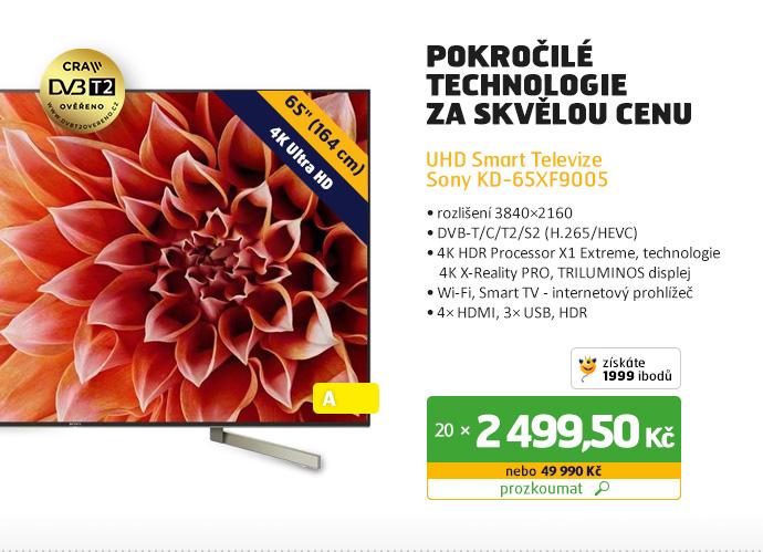 UHD Smart televizor Sony KD-65XF9005