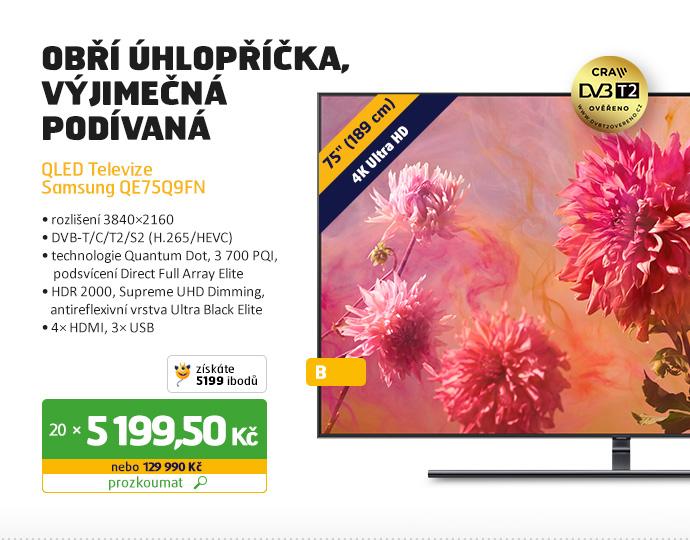 QLED Televizor Samsung QE75Q9FN