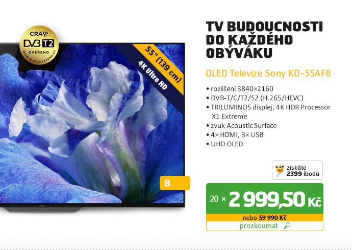 OLED Televizor Sony KD-55AF8