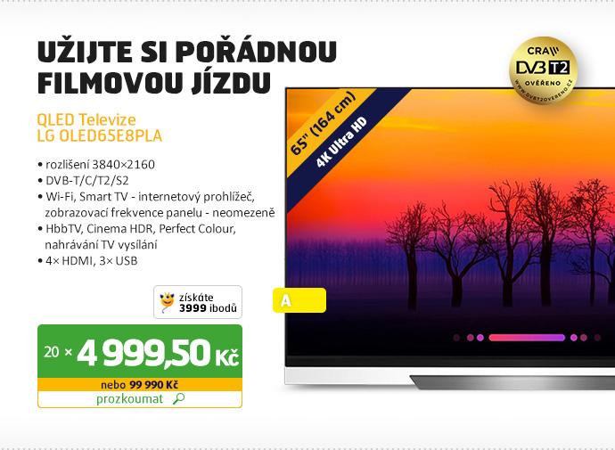 OLED televizor LG OLED65E8PLA