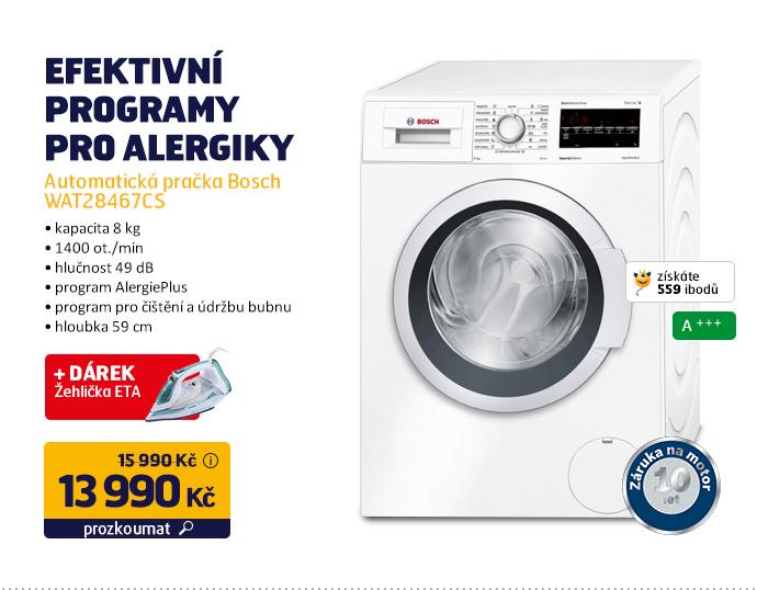 Automatická pračka Bosch WAT28467CS