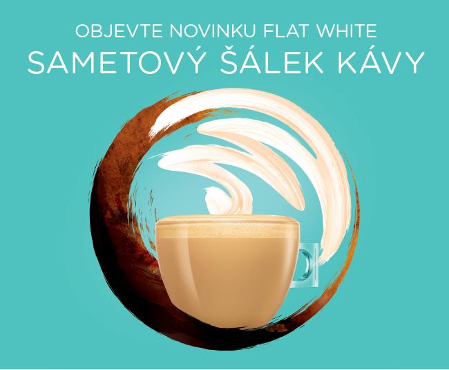novinka FLAT WHITE