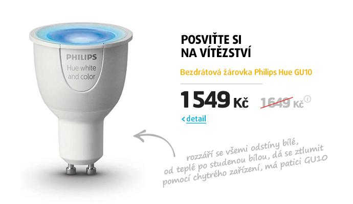 Bezdrátová žárovka Philips Hue GU10