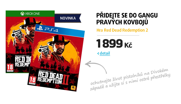 Hra Red Dead Redemption 2