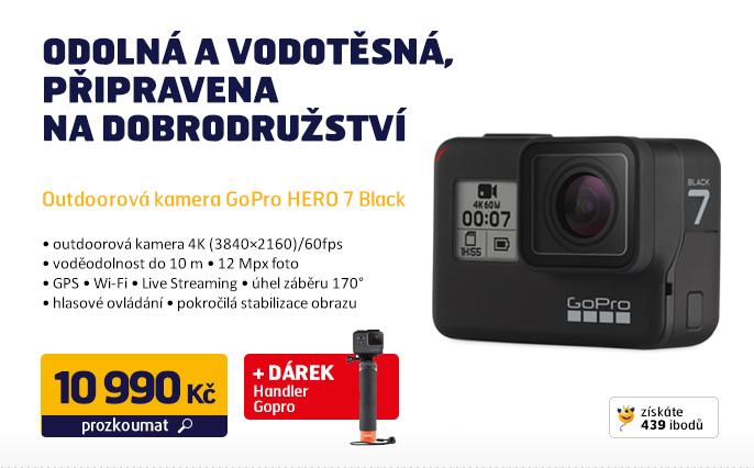 Outdoorová kamera GoPro HERO 7 Black