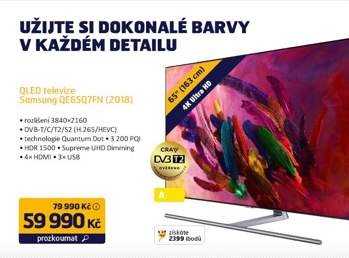 QLED Televize Samsung QE65Q7FN (2018)