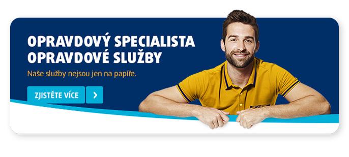 Opravdový specialista, opravdové služby