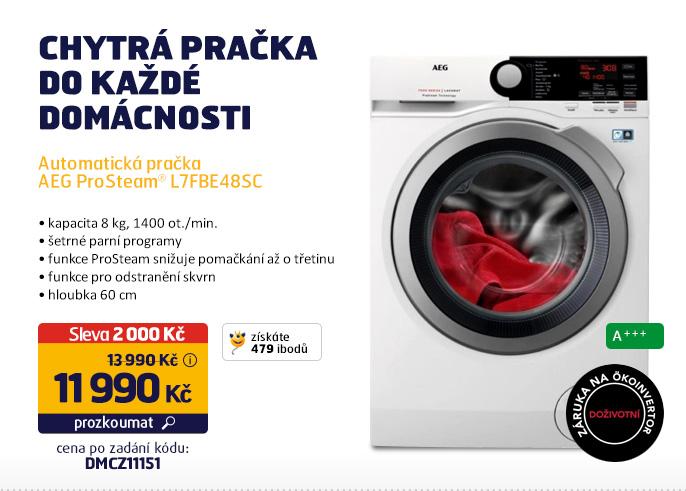 Automatická pračka AEG ProSteam® L7FBE48SC