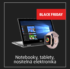 notebooky, tablety, nositelná elektronika
