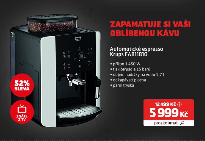 Automatické espresso Krups EA811810
