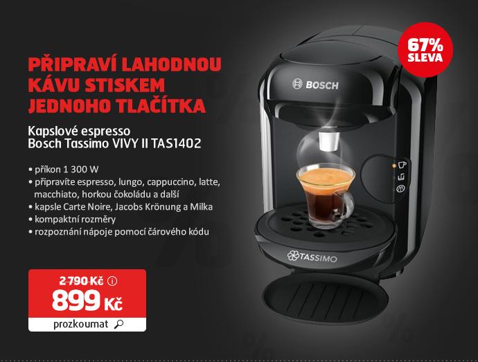 Kapslové espresso Bosch Tassimo VIVY II TAS1402