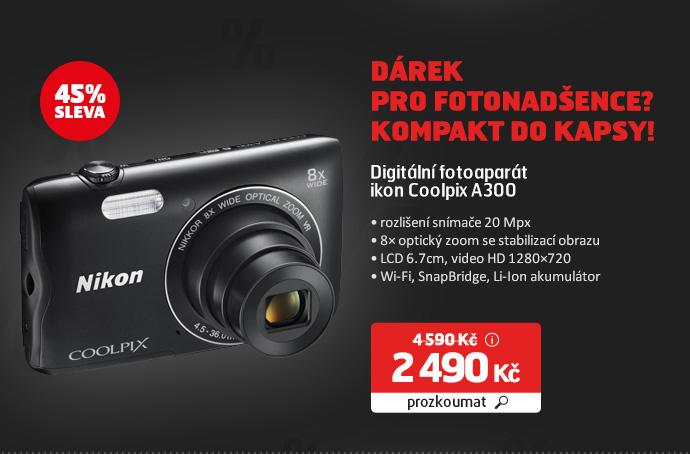 Digitální fotoaparát Nikon Coolpix A300