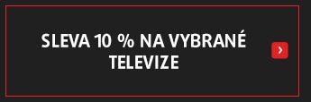 Sleva 10 % na vybrané televize