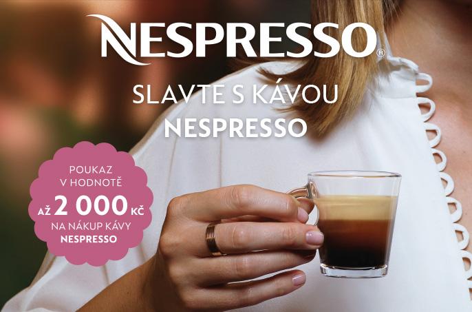 Slavte s kávou nespresso