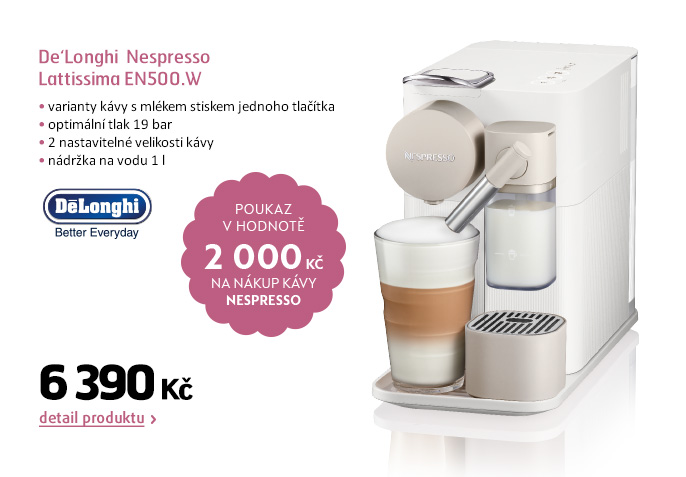 Nespresso De'Longhi Lattissima EN500.W