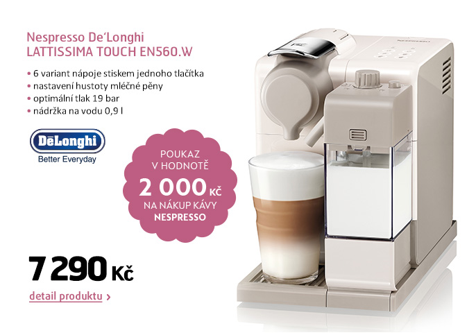 Nespresso De'Longhi LATTISSIMA TOUCH EN560.W