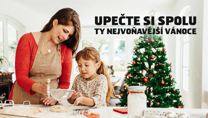 Upečte si spolu ty nejvoňavější Vánoce