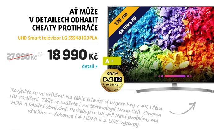 UHD Smart televizor LG 55SK8100PLA