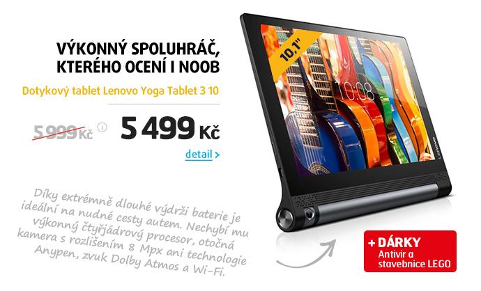 Dotykový tablet Lenovo Yoga Tablet 3 10