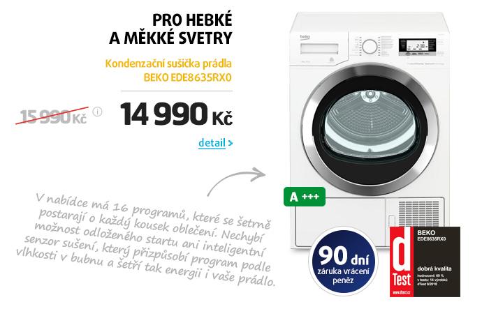 Kondenzační sušička prádla BEKO EDE8635RX0