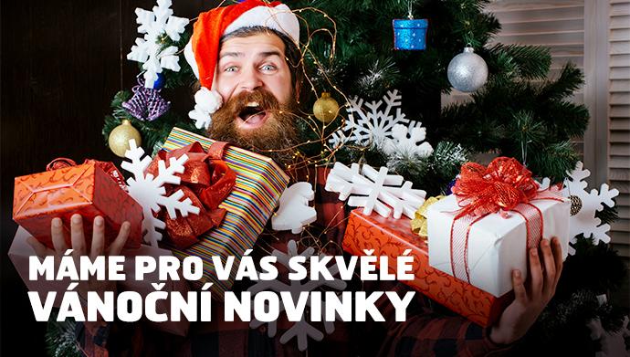 Máme pro vás skvělé vánoční novinky