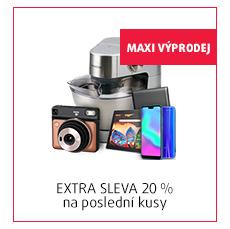 EXTRA SLEVA 20 % na poslední kusy