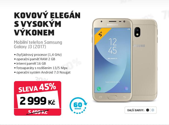 Mobilní telefon Samsung Galaxy J3 (2017)