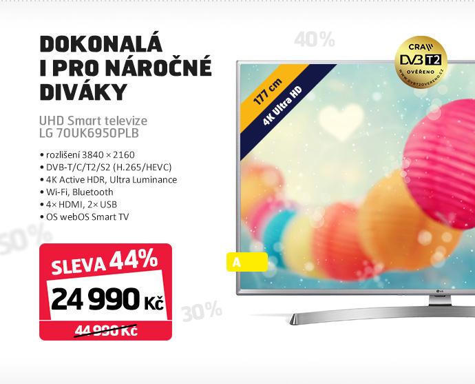 UHD Smart televize LG 70UK6950PLB