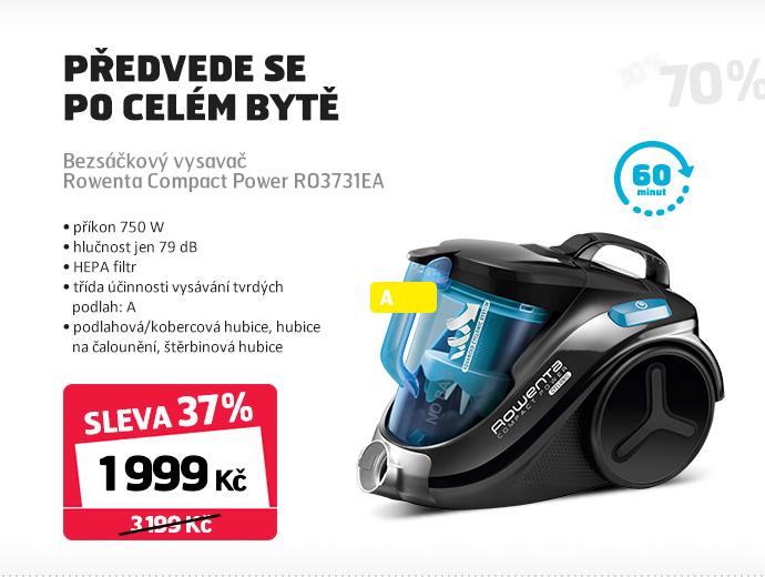 Bezsáčkový vysavač Rowenta Compact Power RO3731EA