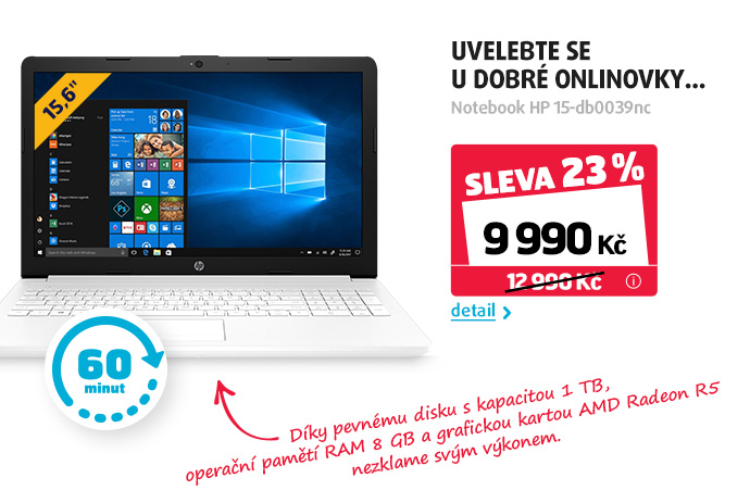 Notebook HP 15-db0039nc