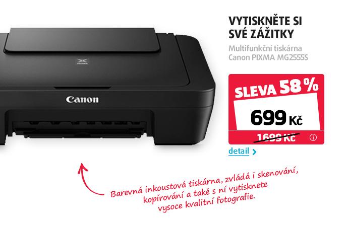Tiskárna multifunkční Canon PIXMA MG2555S