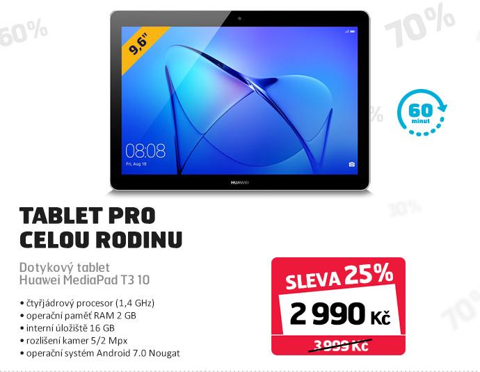 Dotykový tablet Huawei MediaPad T3 10
