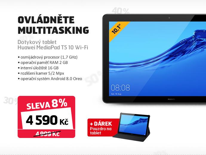 Dotykový tablet Huawei MediaPad T5 10 Wi-Fi