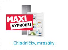 chladničky, mrazáky