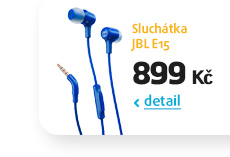 Sluchátka JBL E15
