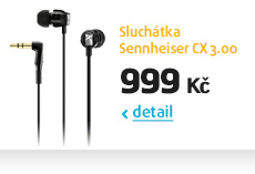 Sluchátka Sennheiser CX 3.00