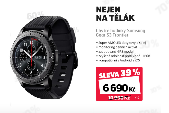 Chytré hodinky Samsung Gear S3 Frontier