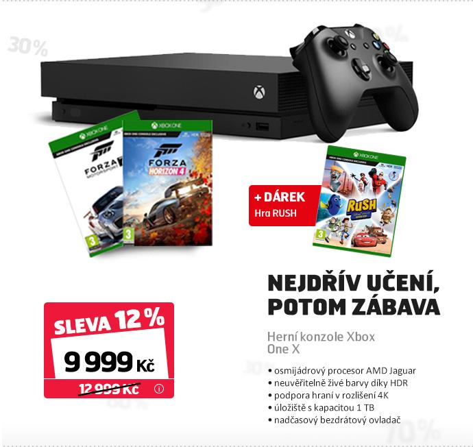 Herní konzole Xbox One X