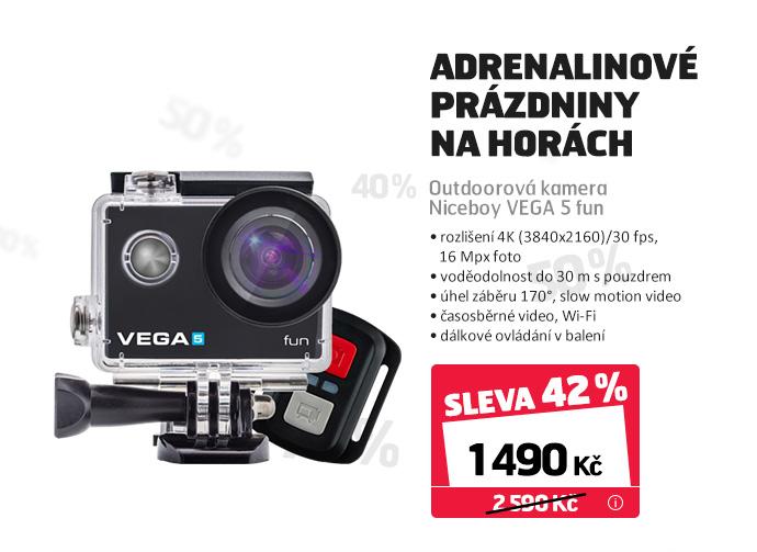 Outdoorová kamera Niceboy VEGA 5 fun